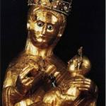 Panna Mária s dieťatkom 84,7 kg zlata