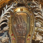 ruka sv. Františka Xaverského