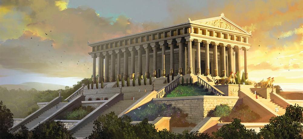 Chrám Diany - Artemis