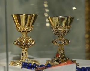 zlaté kalichy
